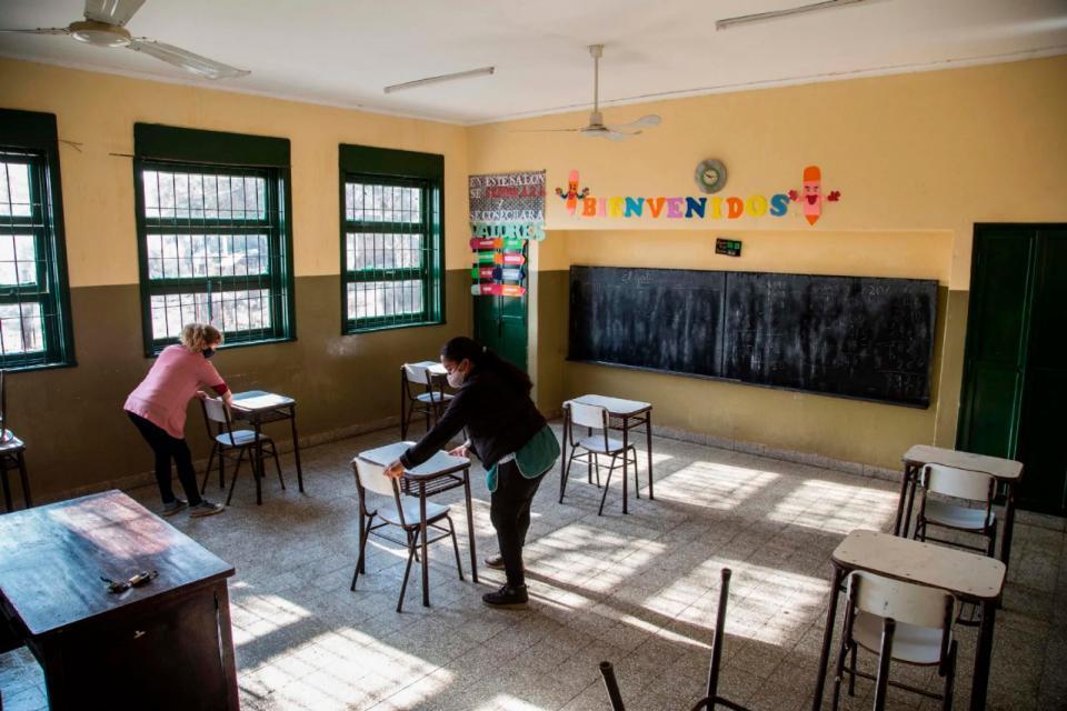 Argentina: Jardines maternales vuelven a las aulas en todo San Juan